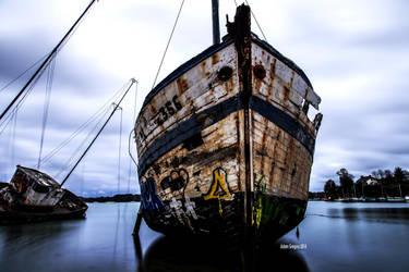 Cimetiere de bateau by Balrogofchaos