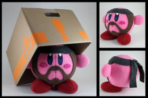 Solid Snake Kirby plushie by eitanya