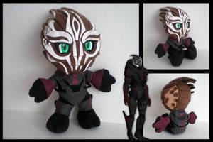 Mass Effect - Nihlus plushie by eitanya