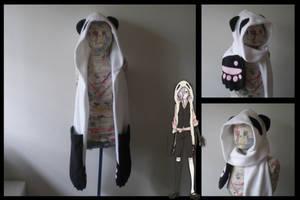 Un-go panda hoodie scarf by eitanya