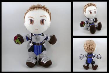 Alistair - DA2 Warden armor by eitanya