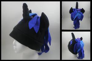 Dark unicorn pony hat by eitanya