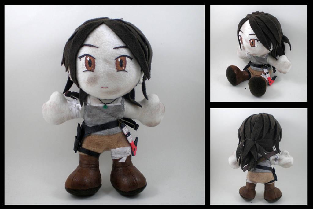 Tomb Raider - Lara Croft plushie by eitanya