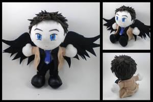 Supernatural - Castiel plush by eitanya