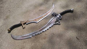 Prince of Persia: Warrior Within swords by eitanya
