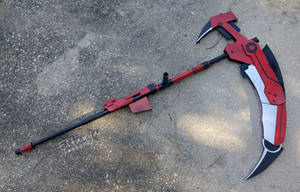 Crescent Rose - RWBY cosplay prop by eitanya