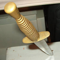 Dagger Stuck by wrathman-stock