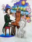 Frederic Chopin by SerenaChen
