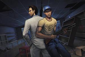 Nick and Ellis by HawkeyeWong