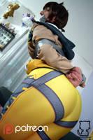 Bondage fun with Tracer by Natsuko-Hiragi