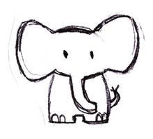 Elephant by PatheticArtist