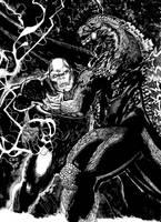Godzilla Contra King Kong by ChristianWillett