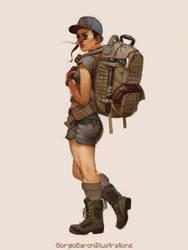 Backpacker by giorgiobaroni
