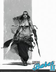 Babes II - Qadira of the Sands by giorgiobaroni