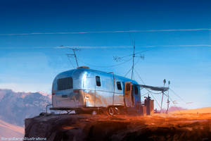 Desert Outpost by giorgiobaroni