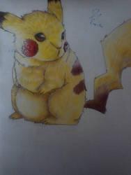 Pikachu Fluff by Neonplusfire
