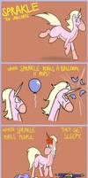 Sprakle the Unicorn - Poke by timsplosion