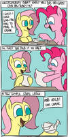 Pinkie Learns Origami by timsplosion