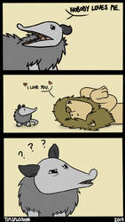 No Love for Possum? by timsplosion