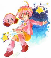 Kirby of the Stars by karepan