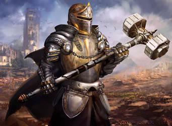 Knight by JoshCalloway