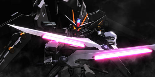 Strike Noir Gundam 2 by Mr-Mecha-Man