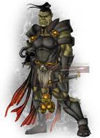 Orc Warrior by Cyzra