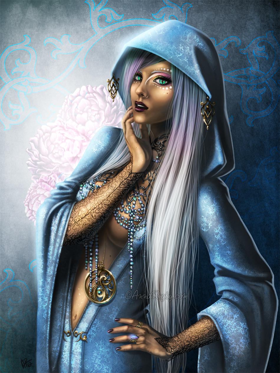 Priestess by Cyzra