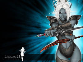 Lineage II wallpaper by Cyzra