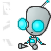 Pixel Gir -robot form- by InvaderMax