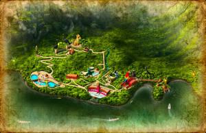 mapa parque ecoturistico by hikaruga