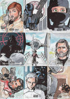 Star Wars Cards by CliffThomas