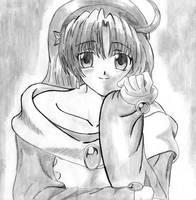 Old Drawings 2 Athena A by darthplegias