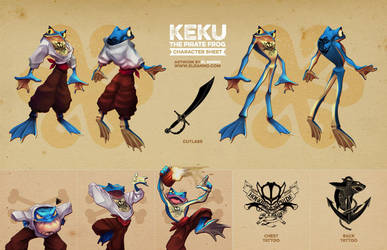 Keku  [Reference Sheet Commission] by elranno