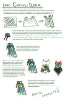 Loki cosplay guide: Cape by SirLadySketch