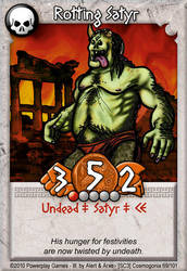 Rotting Satyr by AlertasJ