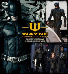 Armor up, the Wayne way! by AlertasJ
