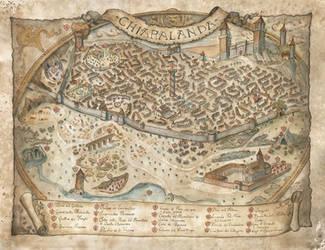 Map of Chiaralanda by FrancescaBaerald