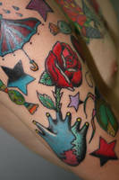 My Sleeve Tattoo Process by DevilJack28