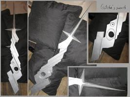 LAST EXILE - Gilda's sword by AridelaAriadne