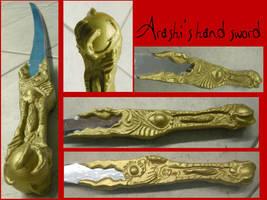 X1999 - arashi's sword by AridelaAriadne