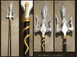 SAINT SEIYA - Pandora sceptre by AridelaAriadne