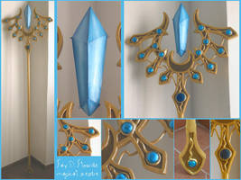 TSUBASA RESERVOIR CHRONICLE - Fay magical sceptre by AridelaAriadne