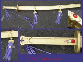 TSUBASA RESERVOIR CHRONICLE - Syaoran sword by AridelaAriadne