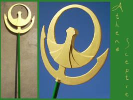 SAINT SEIYA - Athena sceptre by AridelaAriadne