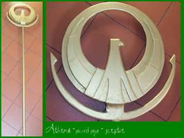 SAINT SEIYA - Athena sac. saga by AridelaAriadne