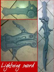 FFXIII - Lightning sword by AridelaAriadne
