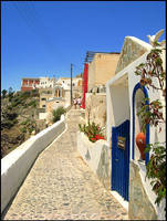 Greece - Fairy-tale Street by AgiVega