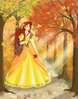 Autumn Ariel by AgiVega