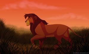King Kovu by Dovahsaurus